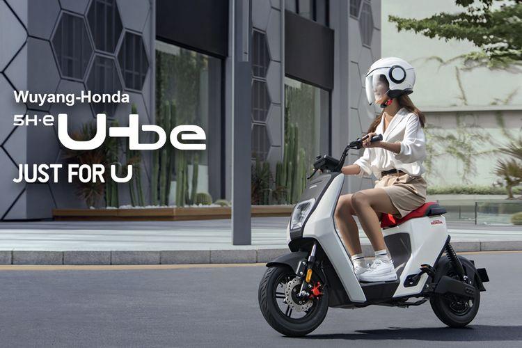 Skuter listrik Honda U-Be