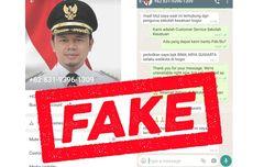 Beredar WhatsApp Palsu Bima Arya, Pemkot Bogor Minta Warga Waspada