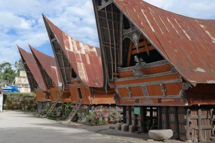 Rumah Bolon Rumah Adat Suku Batak Di Sumatera Utara Halaman All Kompas Com