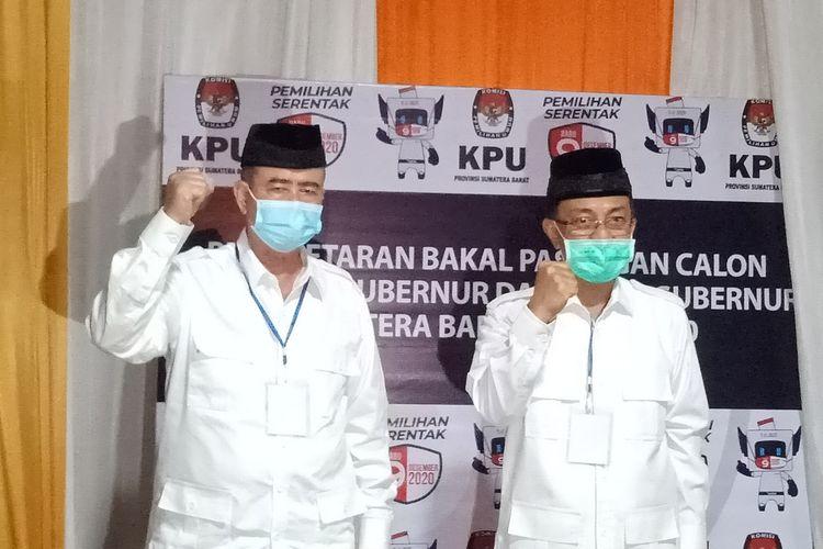 Pasangan Nasrul Abit-Indra Catri unggul telak di Pesisir Selatan berdasarkan pleno KPU Pesisir Selatan