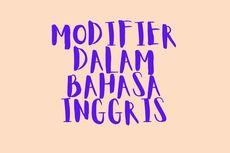 Apa Itu Modifier? Keterangan dalam Bahasa Inggris