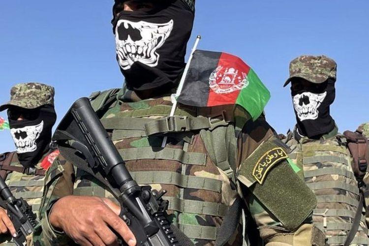 Pasukan khusus Afghanistan.