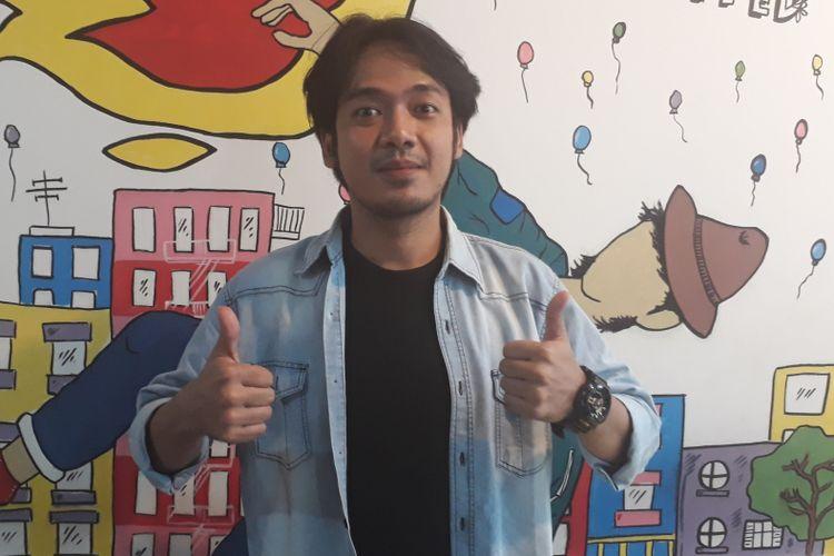 Rai DMASIV di Food Update, Petukangan Utara, Pesanggrahan, Jakarta Selatan, pada Rabu (12/7/2017).