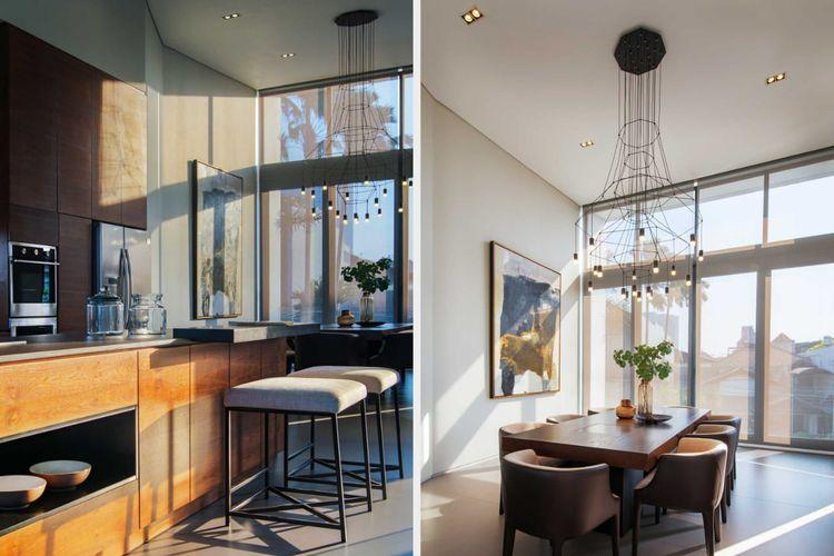 Material kayu mewah RL Residence karya Michael Lauw Studio.