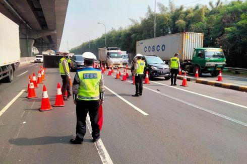 Lalin Keluar Jakarta di Km 31 Tol Cikampek Disekat Mulai Hari Ini, Berikut Titik-titiknya