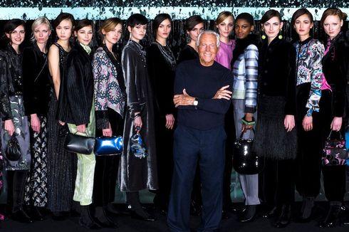 Dampak Virus Corona, Giorgio Armani Gelar Fashion Show Tanpa Penonton