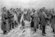 Kisah Perang: Christmas Truce, Ketika Natal Damaikan Jerman dan Inggris di Front Barat