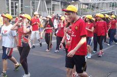 Sebagian Jalan Protokol Ditutup Saat Jakarta Marathon 2015