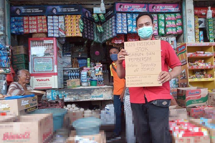 Unilever Indonesia ikut mendorong pertumbuhan UMKM di tengah pandemi.