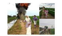 Foto Unik Keluarga di Malaysia Saat Lebaran Ini Viral, Seperti Apa Kisahnya?