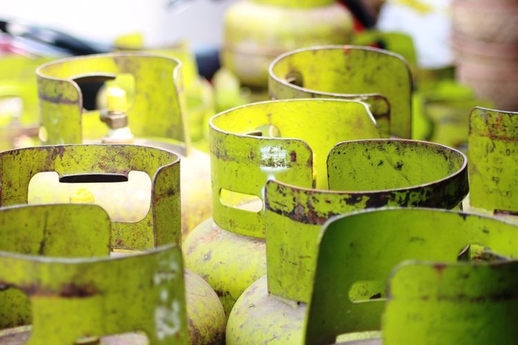 Persediaan tabung gas elpiji 3 kg di wilayah Kabupaten Cianjur, Jawa Barat