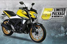 Yamaha V-Ixion R Edisi Terbatas, Warna Kuning