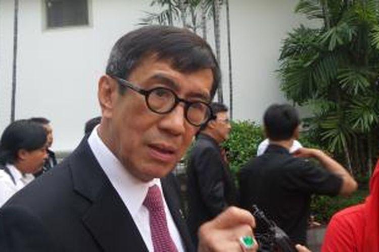 Menteri Hukum dan HAM Yasonna H Laoly
