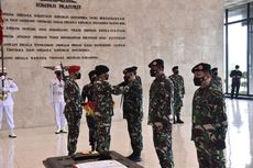 Panglima TNI Pimpin Serah TerimaJabatan Komandan Kodiklat