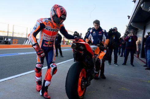 Marquez Tak Terkesan dengan Mesin Baru Honda