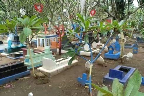 Jauhkan Kesan Angker, TPU di Kota Madiun Diubah Jadi Kebun Sayur dan Dicat Warna-warni