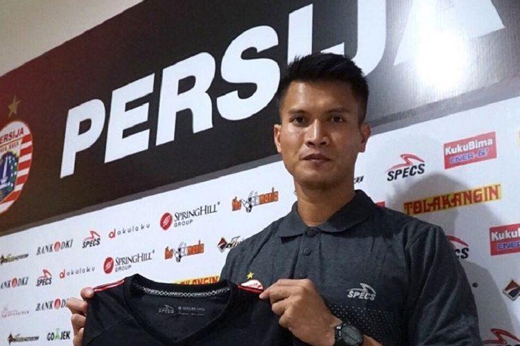 Shahar Ginanjar bergabung dengan Persija Jakarta dengan status pinjaman dari PSM Makassar, Senin (23/7/2018).