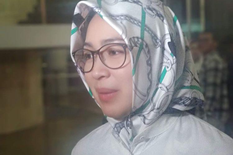 Wali Kota Tangerang Selatan Airin Rachmi Diany di Museum Balai Kirti, Bogor, Jawa Barat, Rabu (15/5/2019).
