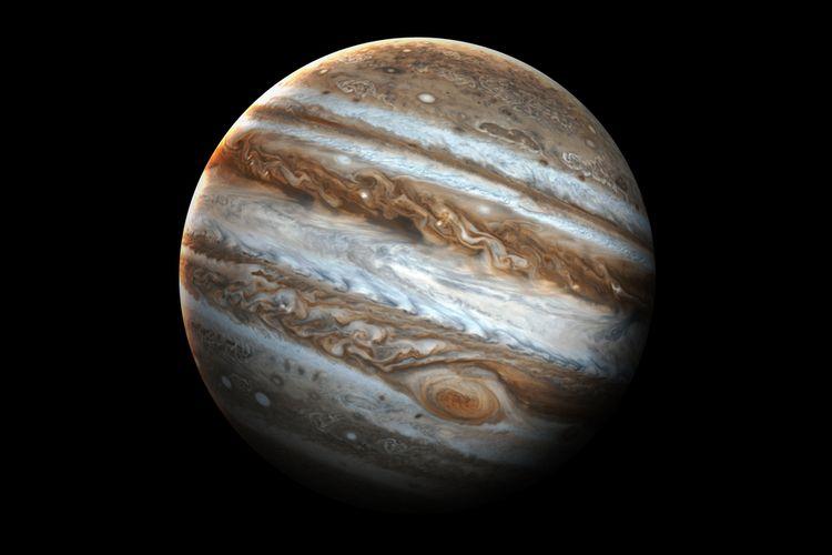 Ilustrasi planet Jupiter. Tumbukan asteroid menghantam Jupiter, tidak berdampak pada Bumi.