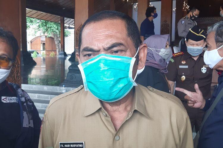 Wali Kota Solo, FX Hadi Rudyatmo di Solo, Jawa Tengah, Senin (19/10/2020).