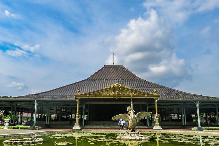 Istana Mangkunegaran di Kota Surakarta.