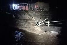 Warga Kecewa, Sudah 17 Hari Jembatan Ambruk Belum Diganti