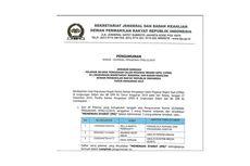Setjen DPR RI Umumkan Hasil Final Seleksi Administrasi CPNS 2019