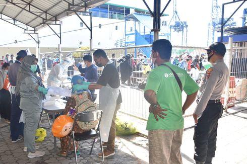 Tiba di Jayapura, 3 Penumpang KM Gunung Dempo Dinyatakan Positif Berdasarkan Tes Antigen