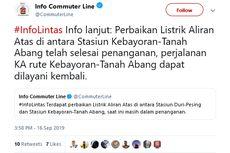 Sempat Gangguan Listrik, Perjalanan MRT dan KRL Sudah Normal Kembali