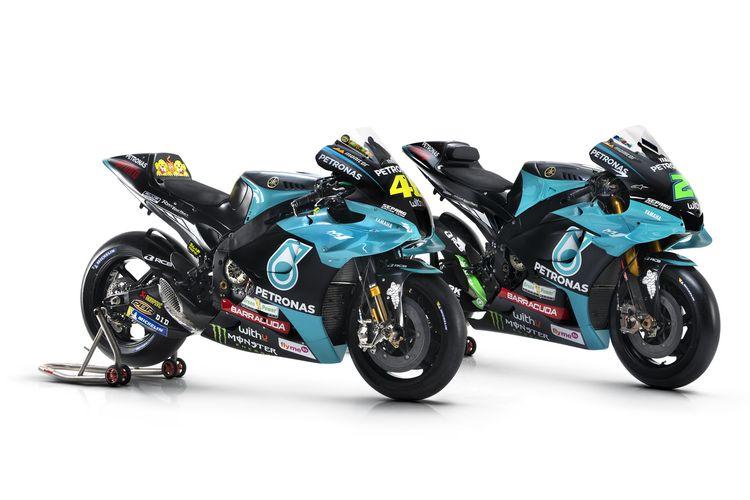 Livery terbaru Petronas Yamaha Sepang Racing Team untuk MotoGP 2021