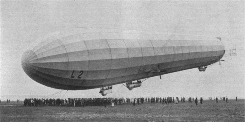 Pesawat Zeppelin LZ-18 L-2 di Berlin Johannistal. (zeppelinhistory.com)