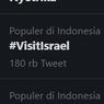 #VisitIsrael Bergaung, Warganet Sindir Kekejaman Israel ke Palestina