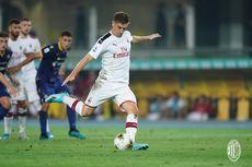 Verona Vs AC Milan, Piatek Bawa Timnya Menang dan Hentikan Puasa Gol