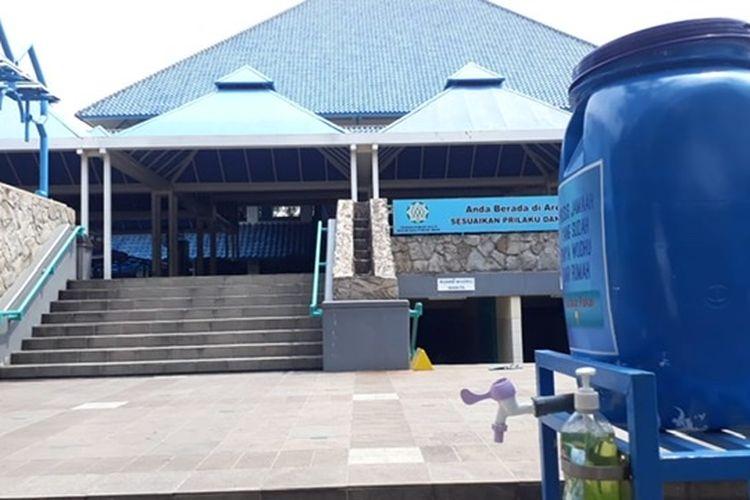 Masjid Raya Pondok Indah, Jakarta menyelenggarakan Shalat Idul Adha pada Jumat (30/7/2020) pagi.