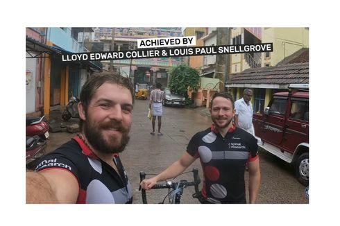 Sepasang Dokter Pecahkan Rekor Bersepeda Tandem Keliling Dunia