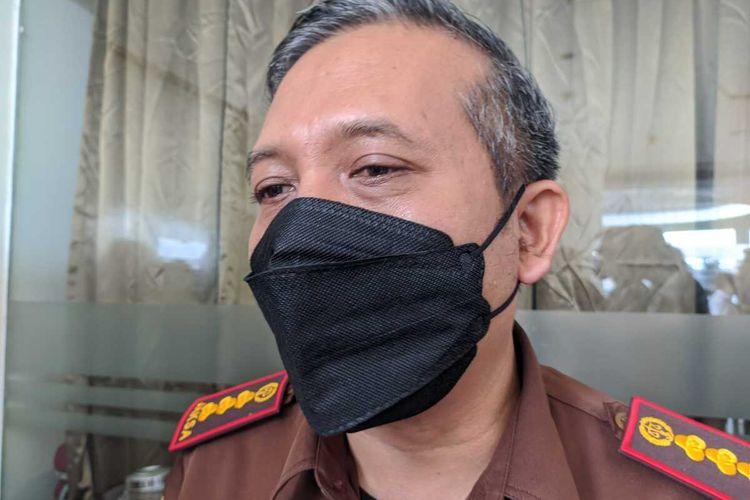 Kepala Kejari Purwokerto Sunarwan di Purwokerto, Kabupaten Banyumas, Jawa Tengah, Kamis (8/4/2021).