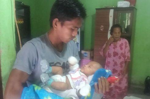 Hari Pertama Pulang dari Rumah Sakit Setelah 3 Bulan Ditahan, Bayi Delfa Kerap Menangis