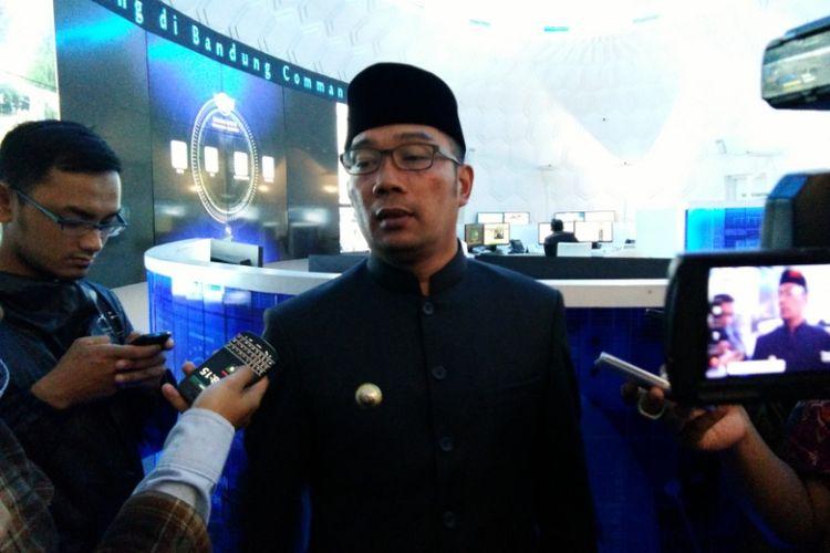 Wali Kota Bandung Ridwan kamil saat ditemui di Bandung Command Center, Kamis (6/4/2017) sore.