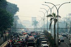 Kabut Asap Kembali Pekat, Udara di Palembang Masuk Level Berbahaya