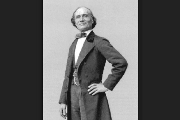 Jean-Eugene Robert-Houdin, pesulap terkenal asal Perancis berjuluk Bapak Sulap Modern. (Água & Azeite)