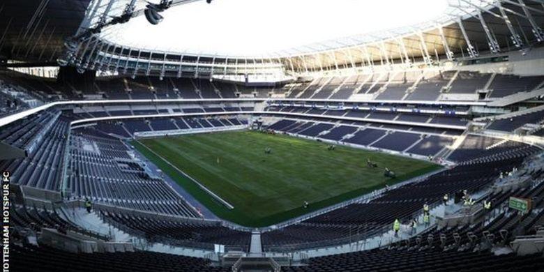 Stadion baru milik Tottenham Hotspur di London.