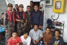 Kapal Ilegal asal Malaysia Ditangkap, Tak Satu Pun Kru Berani Mengaku Nakhoda