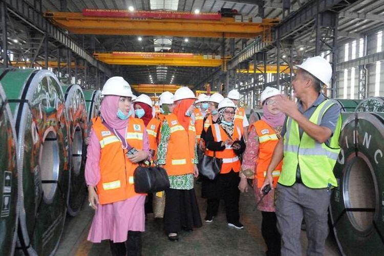 Muslimat Nahdlatul Ulama, melakukan kunjungan kerja ke kawasan industri IMIP (Indonesia Morowali Industrial Park). Kegiatan yang berlangsung selama dua hari ini (28-29 Januari 2019), terkait dengan maraknya isu serbuan Tenaga Kerja Asing (TKA) di media sosial.