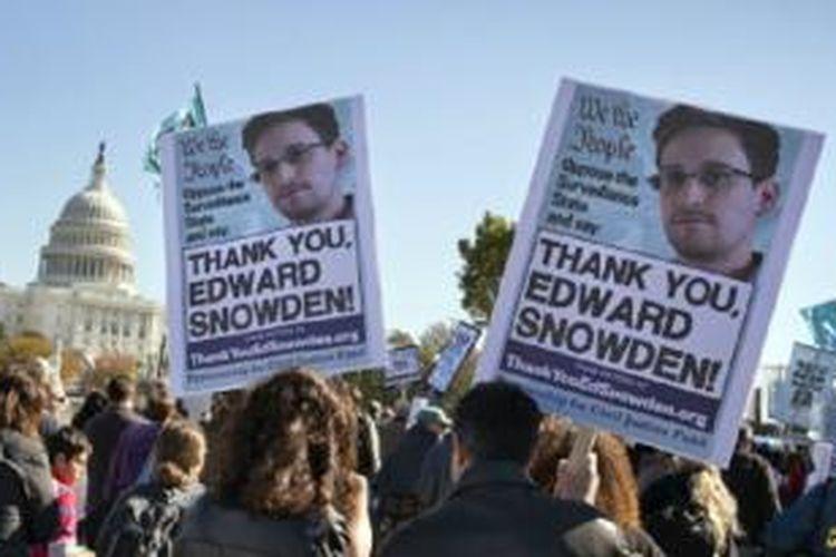 Edward Snowden saat ini diketahui berada di Rusia