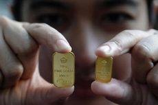 Harga Emas Antam Turun Dua Hari Berturut-turut