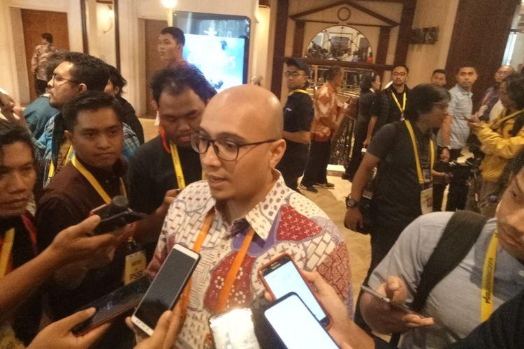 Salah satu calon ketua umum PSSI, Arif Wicaksono mengakui kemenangan Mochamad Iriawan alias Iwan Bule sebagai Ketua Umum PSSI periode 2019-2023 dalam Kongres Luar Biasa PSSI yang digelar di Jakarta, Sabtu (2/11/2019).