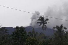 Gunung Agung Erupsi, Sejumlah Wilayah di Karangasem Terpapar Hujan Abu Tipis