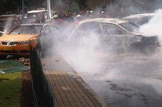 Polisi Buru Sopir Honda Freed yang Kabur Seusai Kecelakaan Beruntun di Bintaro