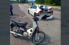 Viral Bumper Honda Civic Remuk Setelah Ditabrak Honda Astrea Prima, Ini Fakta yang Terjadi...