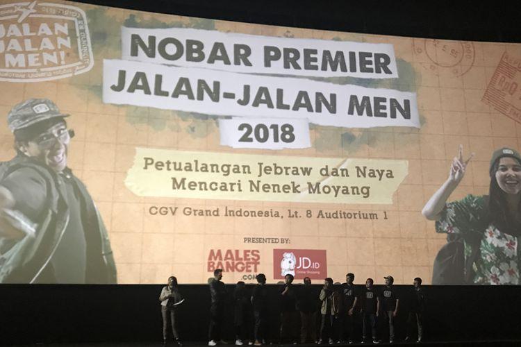 Cast dan Crew Jalan-jalan Men 2018.